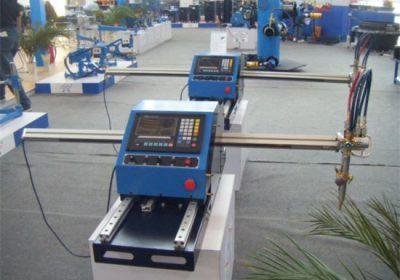 Tragbare cnc-Plasma-Flammenmetall-Gasschneidemaschine